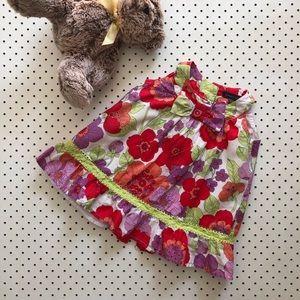 Baby girl size 0 PUMPKIN PATCH vintage style dress